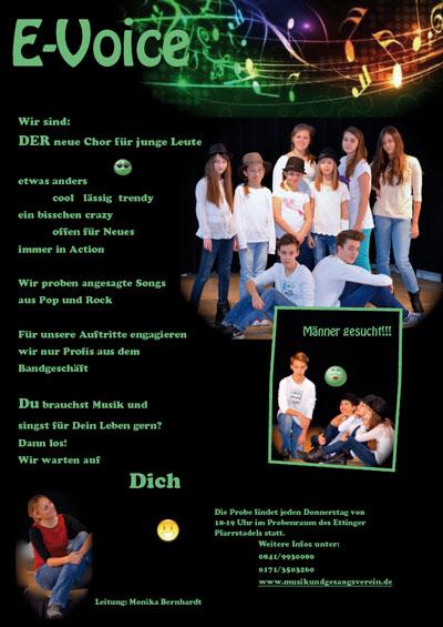 E-Voice Jugendchor
